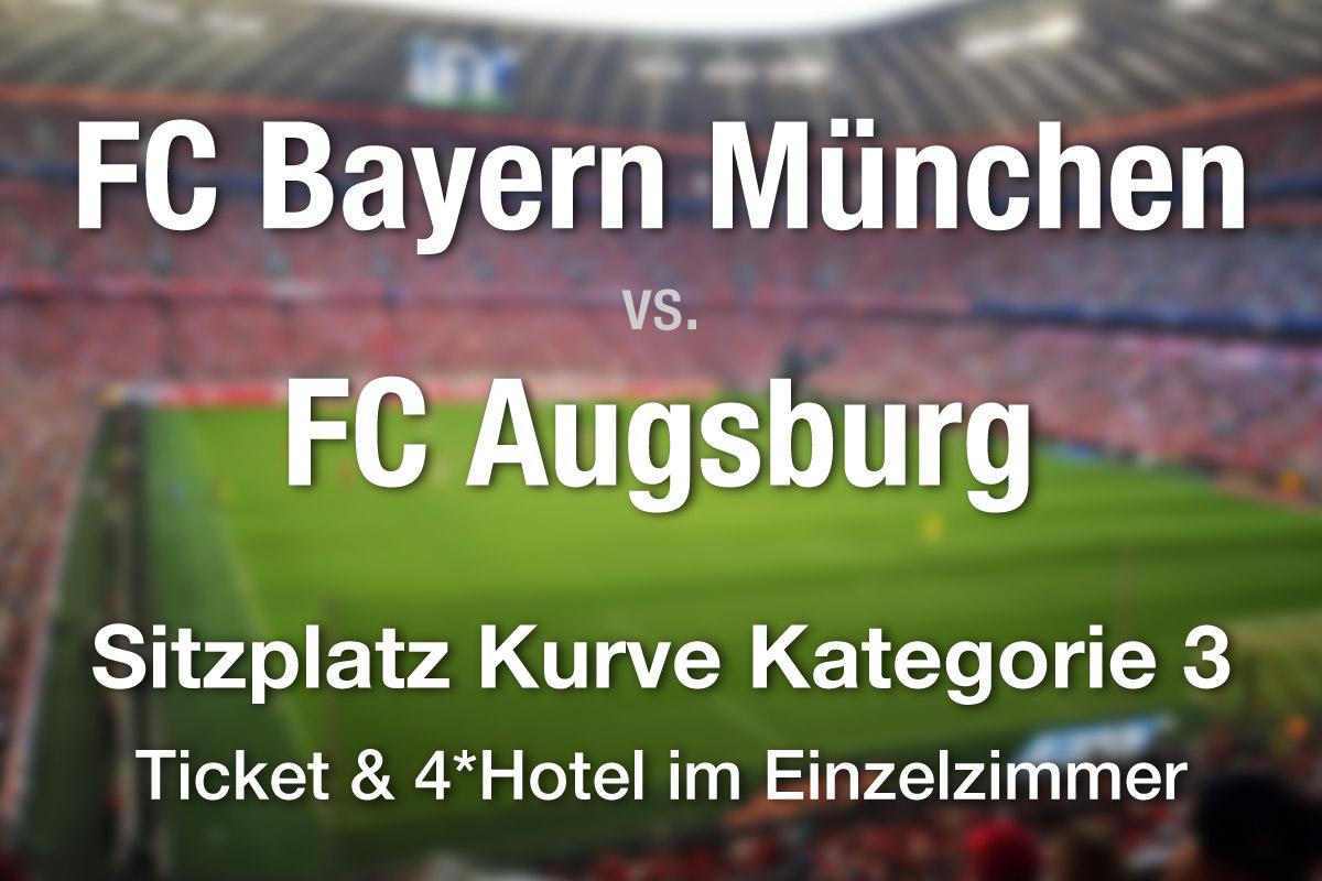 Fc Bayern Munchen Fc Augsburg 25 09 18 Kat 3 Mit 4 Hotel Ubernachtung Im Ez